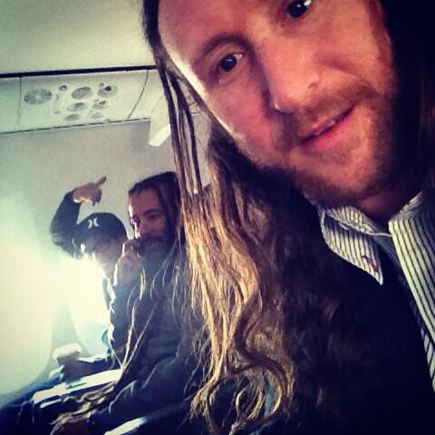 Incubus on airplane 1